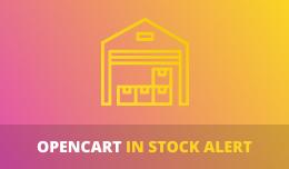 In Stock Alert
