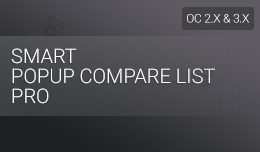 Smart Popup Compare List Pro
